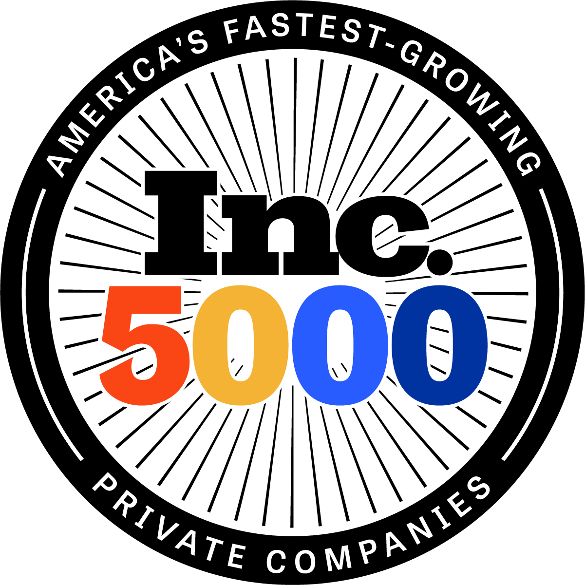 INC 5000 Award for 2020