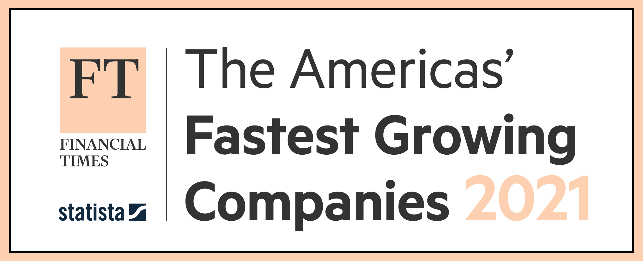 FT Americas' Fastest Growing Companies 2021